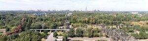 Panorama vom Landschaftspark Duisburg Hausverwaltung Gottschling