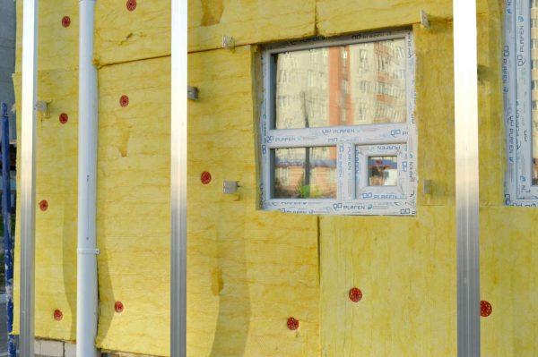 Fassadendämmung WDVS